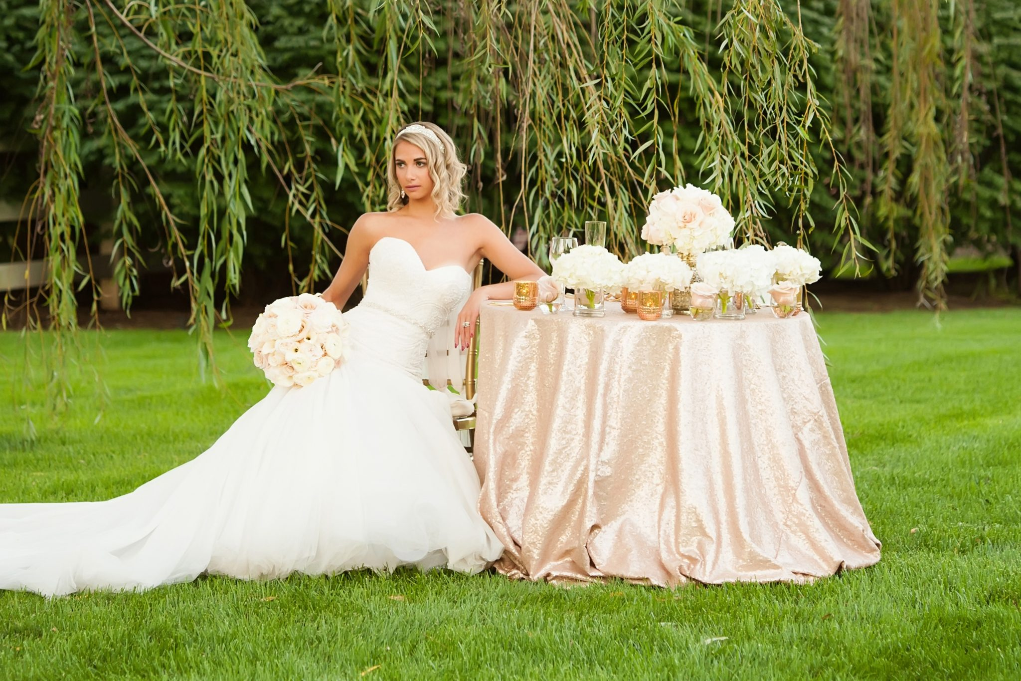 Wedding Flowers By Floral V Designs In Dayton And