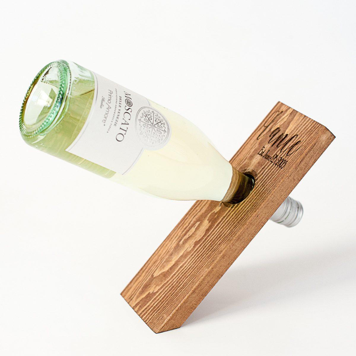 Wine Bottle Balancer Floral V Designs
